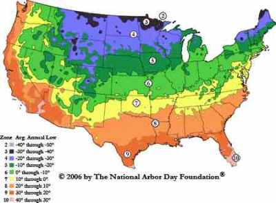 US Heat Zones