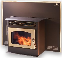 The Breckwell P22 Pellet Stove And Pellet Insert
