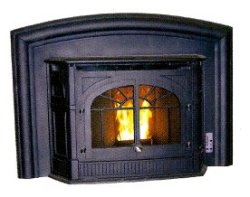 The Enviro Empress Fireplace Insert
