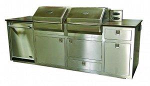 custom memphis pro dual grill