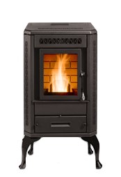 The St Croix Auburn Corn and Pellet Stove - Pellet Stove Fires