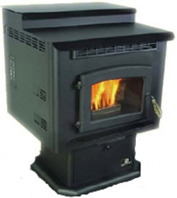 The Breckwell Sp6000 Wood Pellet And Corn Stove