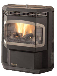 The Harman Advance Pellet Stove