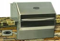 memphis pro pellet grill built in
